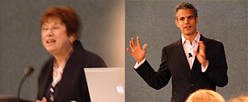 ILA President Carole Medal and Keynote Speaker Omar Wasow