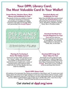 Des Plaines Journal & Topics Insert - back