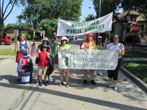 Brookfield PL FOL 4th Parade 2012
